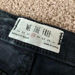 Free People Jeans - Free People Black Distressed Skinny Jeans BNWT